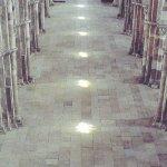 Le cheminde lumière dans la basilique, explications à la Maison du Visiteur