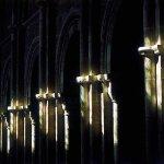 Lumière à l'équinox dans la Basilique, explications à la Maison du Visiteur