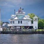1879 Hooper Strait Lighthouse at CBMM