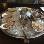 Happy hour, half off mussles
