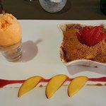 A delicious vegan dessert