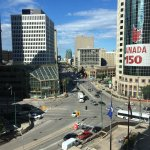 Portage and Main from room 915