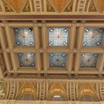 Never taken so many pictures of ceilings !