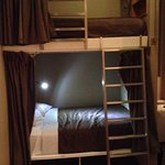 "Bunk beds in ""Quad"" room"