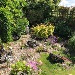 The Retreats garden...