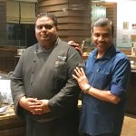With Executive Chef Michael Saju