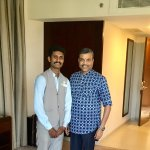 With Harikrishnan, Concierge Team Leader