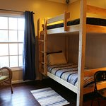 Our adult-sized bunk beds were custom-made to fit you confortably