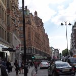 Harrods is the Red Colored Building in the Distance