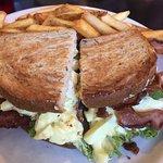 Bacon & Egg Salad Sandwich