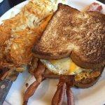 Fried Egg & Bacon Sandwich