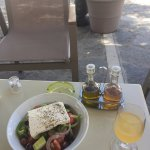 Best Greek salad on our entire trip.