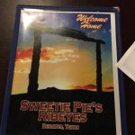 Sweetie Pie's menu