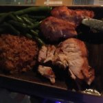 Kid's Meal, Chicken with rice and green beans