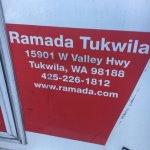 Foto de Ramada Tukwila Southcenter