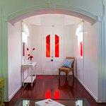 Floral Cottage Hallway