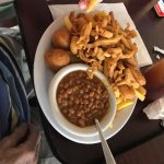 the meal of my co-worker. Not sure how much he paid or what he ordered, but the portion is gener