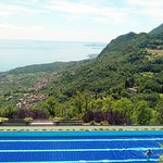 Infinity Pool overlooking Lake Garda