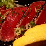 peppered tuna tatami