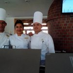 Mario, Adriana & Rafael...they prepare amazing meals @ Casa Mia!