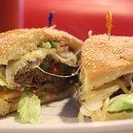 Skyline Cheesesteak Burger