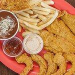 Fired Fish & Shrimp Combo