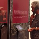 """""""Colored Soldiers"""" exhibit featuring """"A War On Two Fronts"""" traveling exhibit at Strickland museu"""