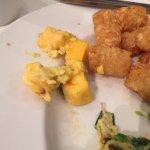 Clumpy omlette