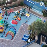 Kids pool area (street side of hotel)