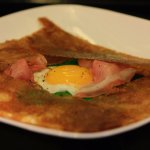 Crepe for Breakfast - with Prosciutto