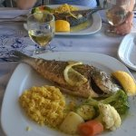 Grilled fish for two please!