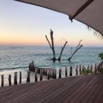 Bar sun deck sea view