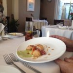 Scallops - perfectly done, punchy flavours
