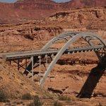 Hite Crossing Bridge in Utah