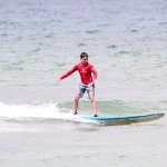 My son surfing with Maui Beach Boys at The Cove in Kihei