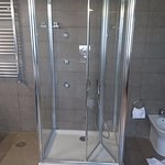 Outdated and old shower
