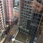 View from sixteenth floor bedroom