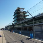 The timing and scoring pagoda.