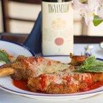 Veal Chop Parmesan