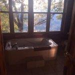 whirlpool tub in upstairs bathroom