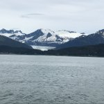 Mendenhall Glacier from Auke Bay in Juneau