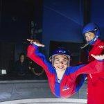 Experience the feeling of freefall as you float on a smooth cushion of air.