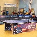 USATT 2017 National Team Trials at Triangle Table Tennis