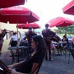 mariachi band entertains