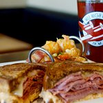 Our famous Reuben sandwich!