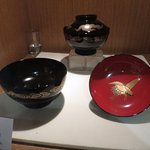 Beautiful lacquered bowls