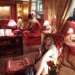 Charming Hotel lobby