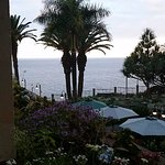 Our surprise upgrade to a 'limited sea view' room, we were booked into a 'garden view' room.