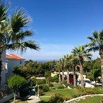 Princess gardens that surround hotel