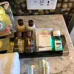 The amenities were re stocked every day